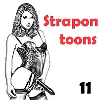 Strapon & Anal play toons (11)