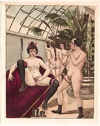 Vintage Erotic Drawings 5
