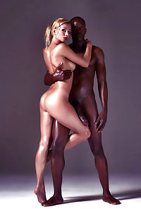 Interracial Fantasy Art With Hung Black Stud