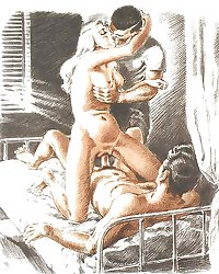 Vintage Erotic Drawings 29