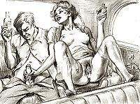 Vintage Erotic Drawings 29