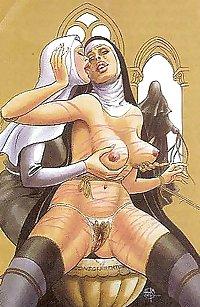 Thematic Drawn Porn Art 6 - Spanking (2)