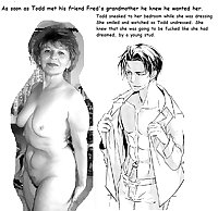 Boys Prefer Older Woman - Drawn with Captions