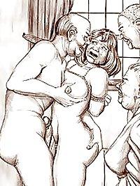 BDSM and  Comic Art
