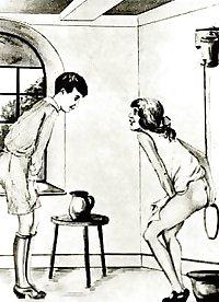 Thematic Drawn Porn Art 3 - Enema 1