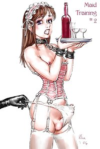 Sissy slave art drawings