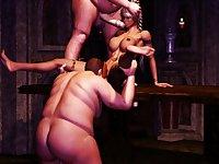 Big dicks For Big girls Mix - 3D Porn