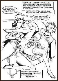Vintage erotic drwaings lesbians 5