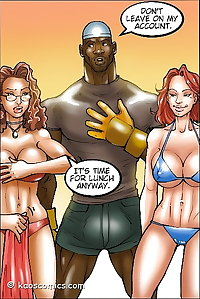 PORN COMIX WIFE AND THE BLACK GARDENERS 2