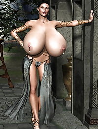 3D fantasy huge boobs