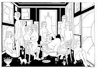 Thematic Drawn Porn Art 29 - Orgies