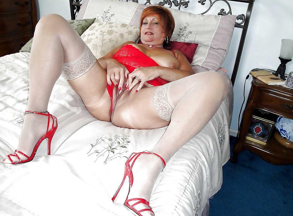 Horny Bbw Grannies In Stockingsmature - Erotic StasyQ 1